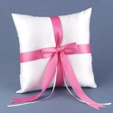 Customized with Color White Ring Pillow