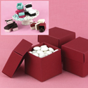Mix-and-Match Merlot Favor Boxes