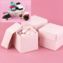 Mix-and-Match Pink Favor Boxes