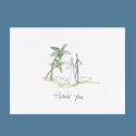 Romantic Stroll Thank You Cards