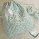 Sole Mate Quilted Wedding Shoe Bag - by Mindy Weiss