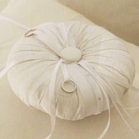 """With This Ring"" Ring Bearer Pillow - by Mindy Weiss"