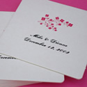 Personalized Square Drink Coasters