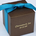 Colored Cube Favor Box - Stardream Line