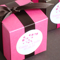 Glossy Personalized Favor Labels