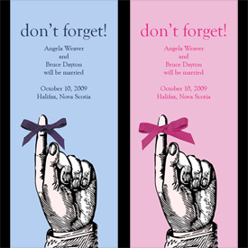 Don't Forget! Save the Date Card