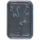 Calla Lily Deep Embossed Stationery Seals