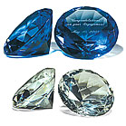 Diamond Shaped Paper Weight