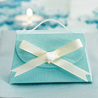Seta Celeste - Aqua Blue Favor Boxes