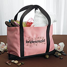 """Bridesmaid"" Two Tone Tote"