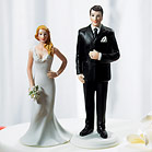 """The Big and Tall Groom"" Figurine"