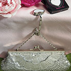 Evening Bag with Beaded Burst