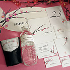 Cherry Blossom Wedding Bulletin