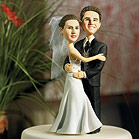 Semi-Custom Bride & Groom Caricature Figurine