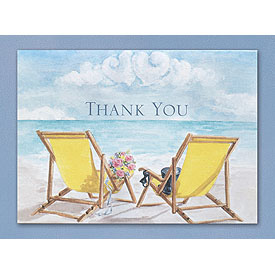 Seaside Jewels Thank You Cards