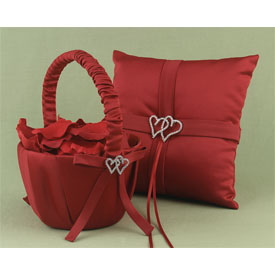 """With All My Heart"" Red Basket"