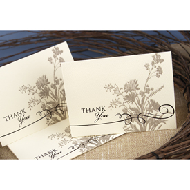 Natural Thank You Cards