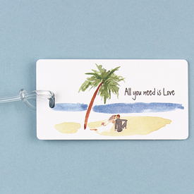 """All You Need Is Love"" Luggage Tag"