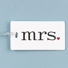 Mrs. Luggage Tag