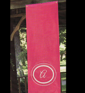 Personalized Banner - Circle Initial
