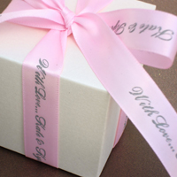 5/8 Personalized Satin Ribbon