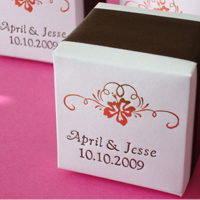 Colored Cube Favor Box - Basic Line